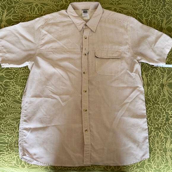 The North Face short sleeve button do…